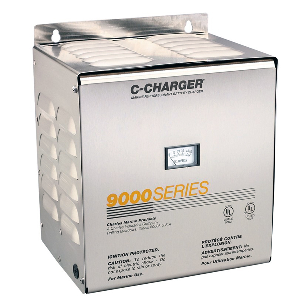 Charles 30 Amp, 24V, 120VAC 9000 Series Charger - 3 Bank