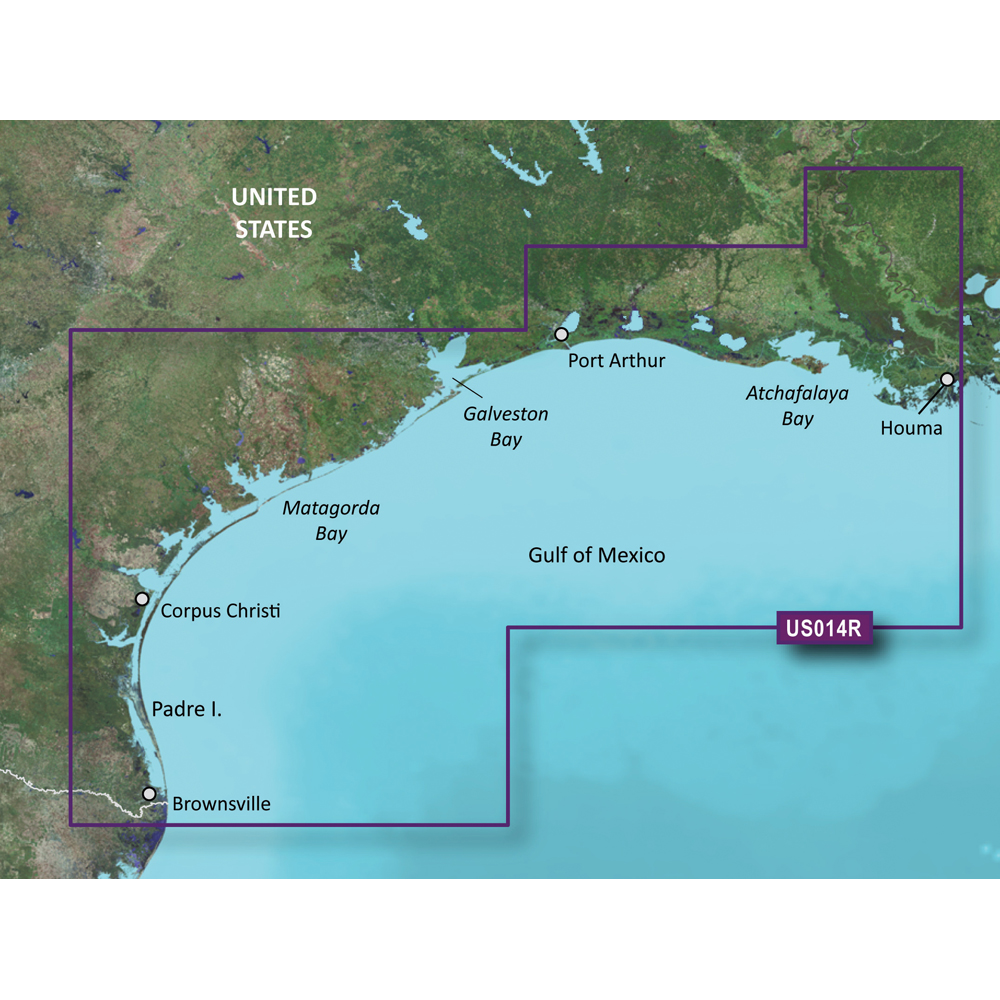 Garmin BlueChart® g2 Vision® - VUS014R - Morgan City to Brownsville - microSD™/SD™