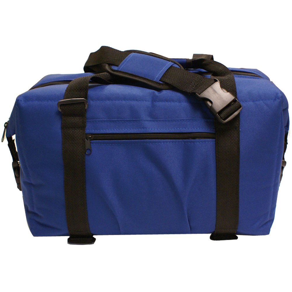 NorChill 24 Can Soft Sided Hot/Cold Cooler Bag - Blue