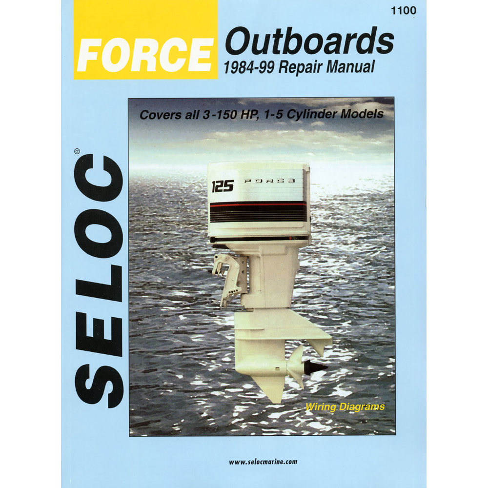 Seloc Serivice Manual Force Outboards - All Engines - 1984-99