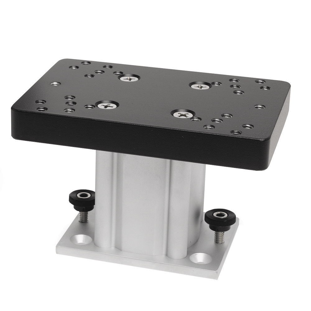 Cannon Aluminum Fixed Base Downrigger Pedestal - 4