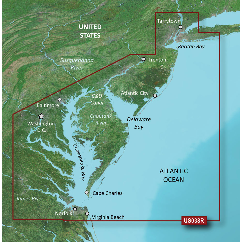 Garmin BlueChart® g2 Vision® - VUS038R - New York - Chesapeake - microSD™/SD™