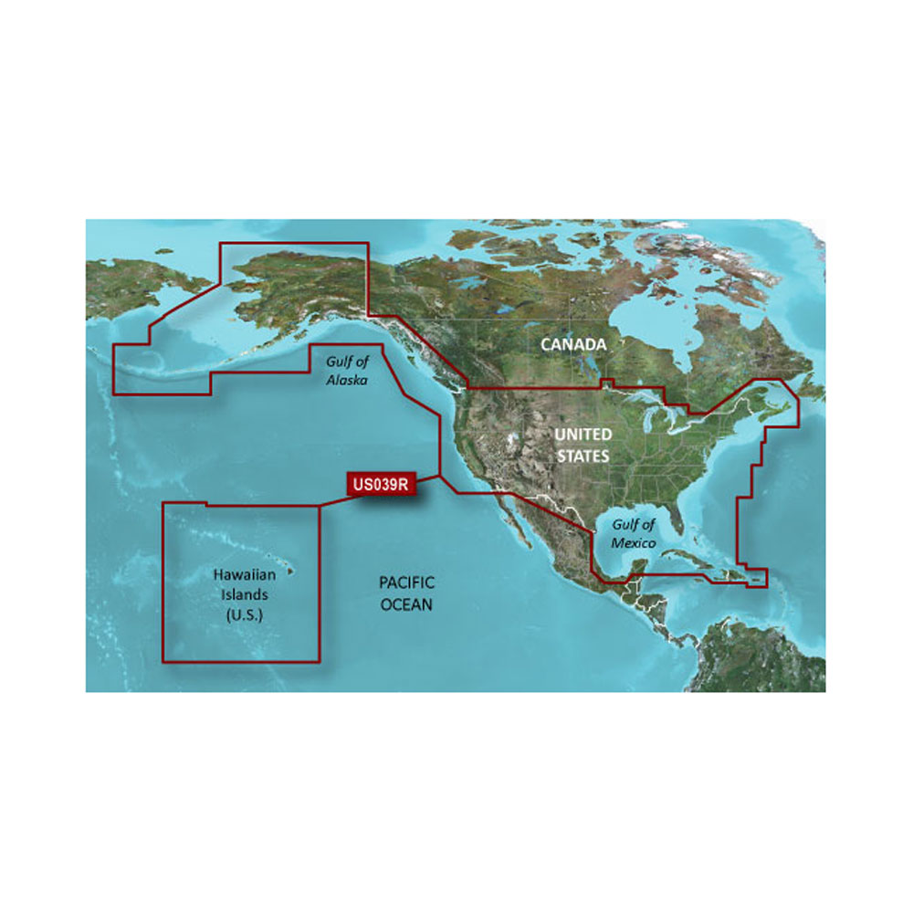 Garmin BlueChart® g2 - HXUS039R - US All & Canadian West - microSD™/SD™
