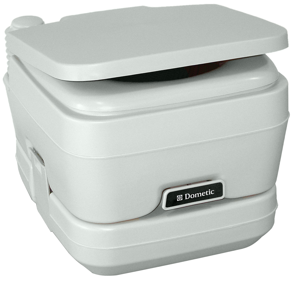 Dometic - 964 Portable Toilet 2.5 Gallon Platinum
