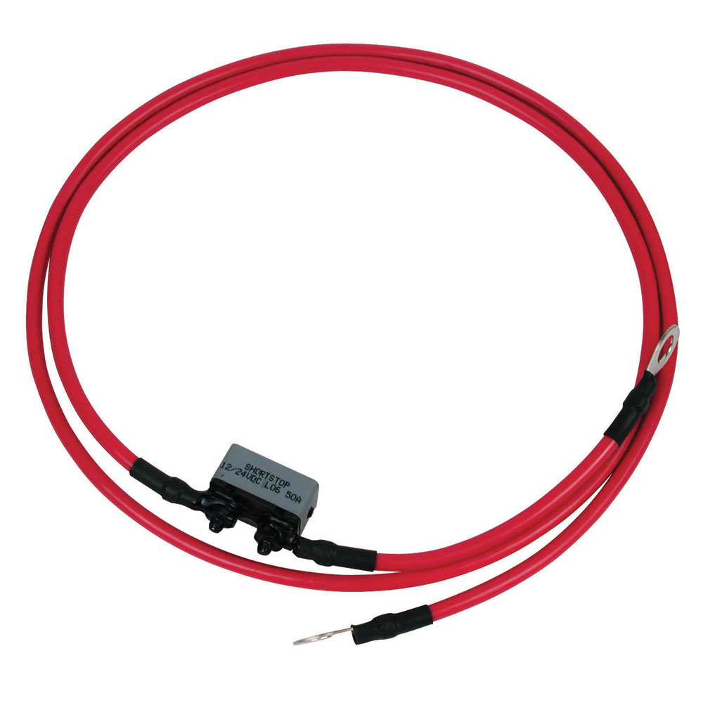 MOTORGUIDE 6 GAUGE BATTER CABLE AND TERMINALS 4' LONG