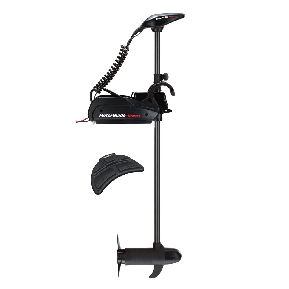 MotorGuide Wireless W45 Freshwater Bow Mount Trolling Motor - Wireless Foot Pedal - 12v-45lb-48
