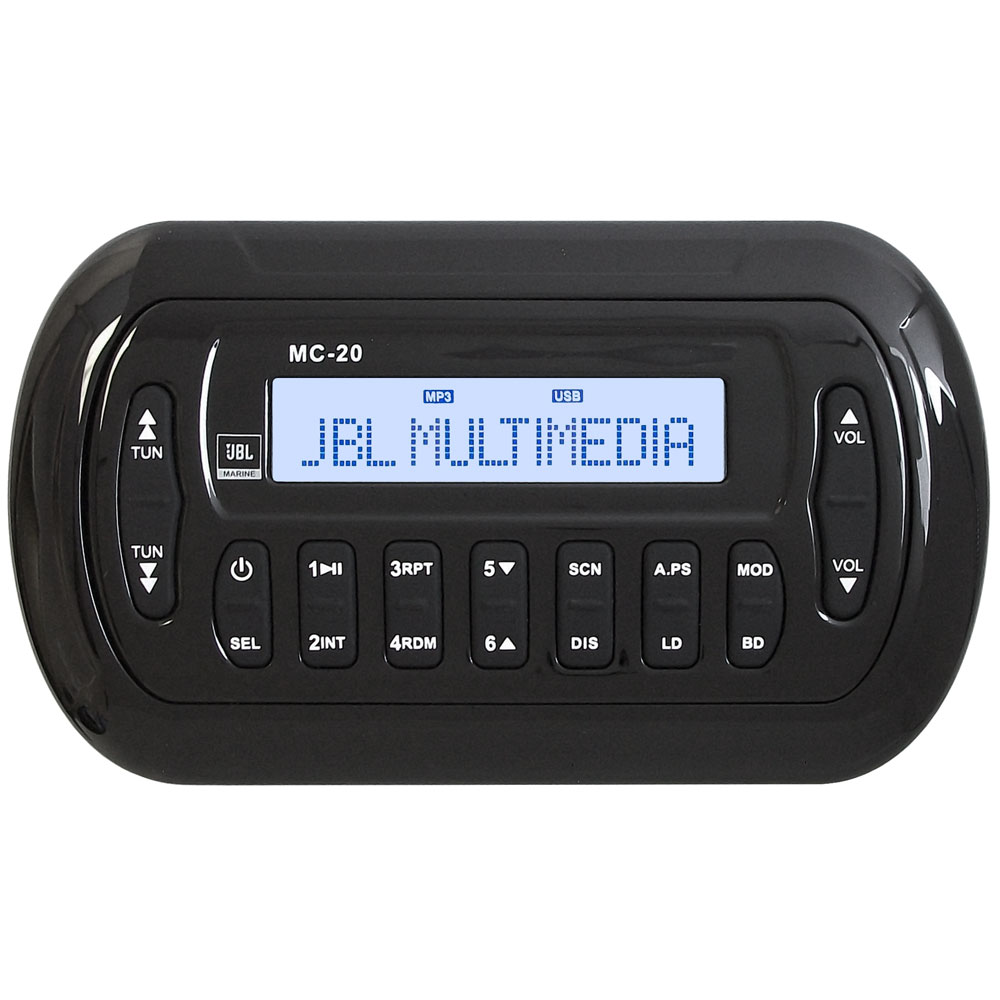 JBL MC20 Black Remote or Second Station f/MBB2020 & MBB2120