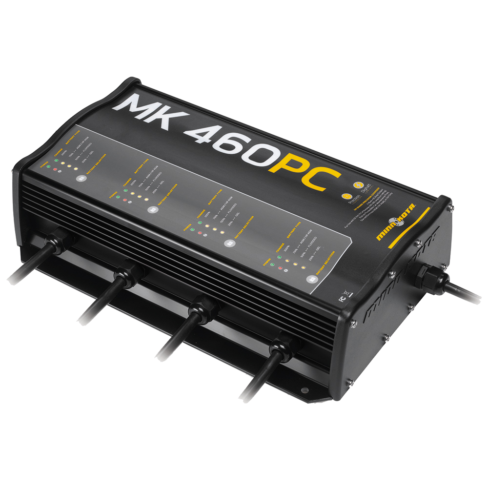 Minn Kota MK-460PC Precision Digital Charger 4 Bank x 15 Amps