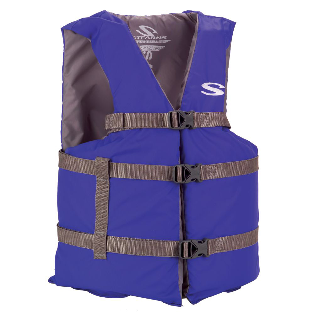Stearns Classic Series Adult Universal Life Vest - Blue
