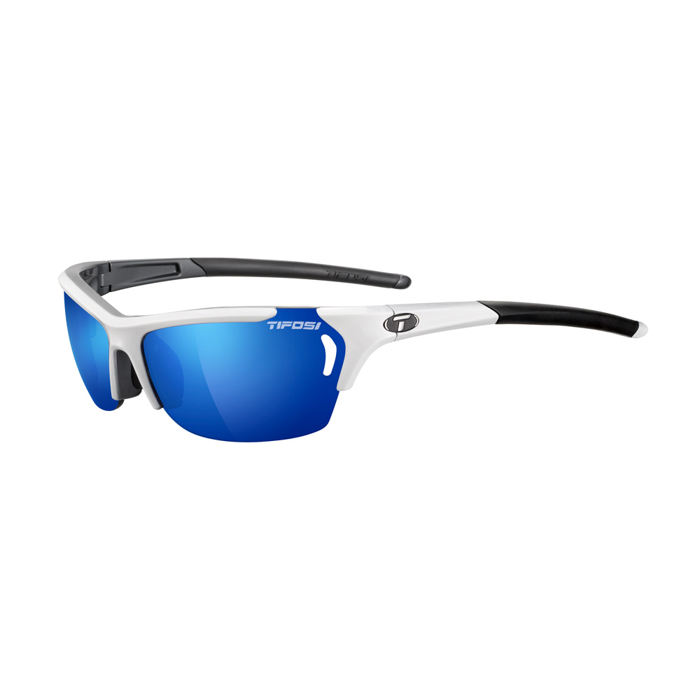 Tifosi Radius Interchangeable Sunglasses - White/Gunmetal