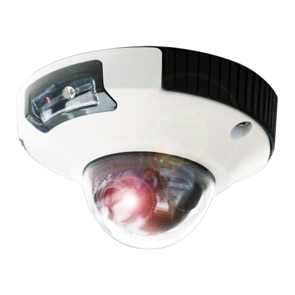 Iris Hi-Def 3MP IP Mini-Dome Camera NTSC w/MSD Storage