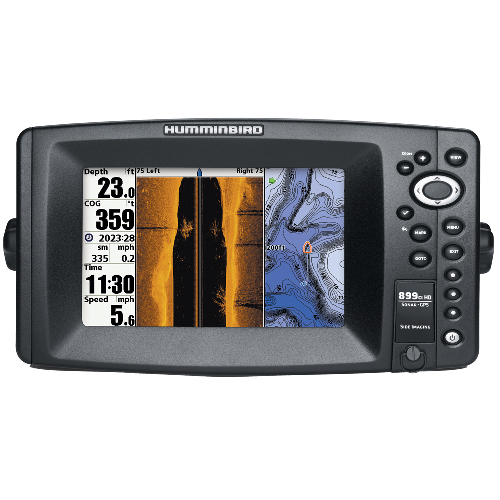 Humminbird 899ci Hd Si Combo Side Imaging Tm Transducer