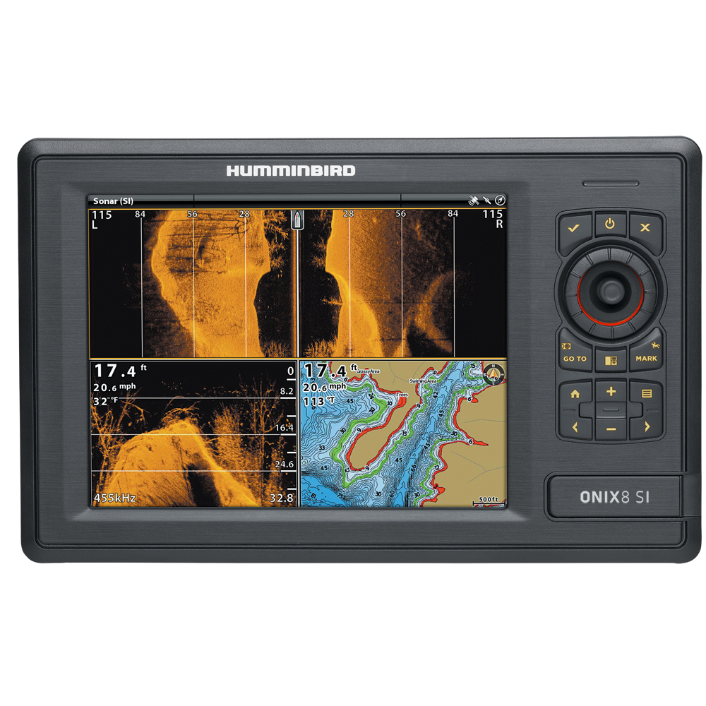 Humminbird ONIX8ci SI Combo - Side Imaging TM Transducer