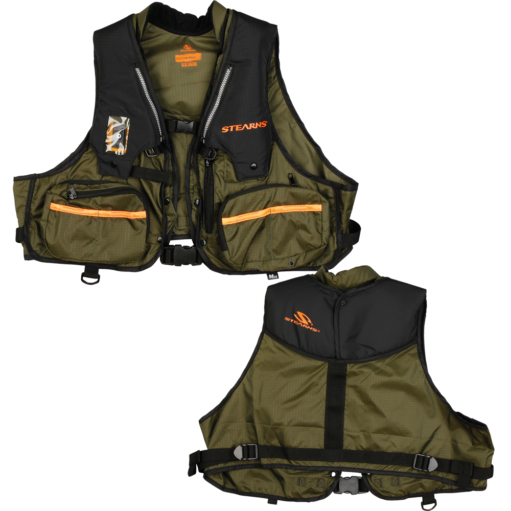 Stearns 1248 Adult Inflatable Vest - Hunt/Fish Spec. - S/M