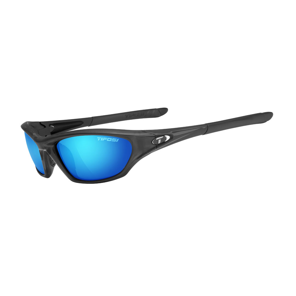 Tifosi Core Polarized Single Lens Sunglasses - Clarion Mirror Collection - Gloss Black