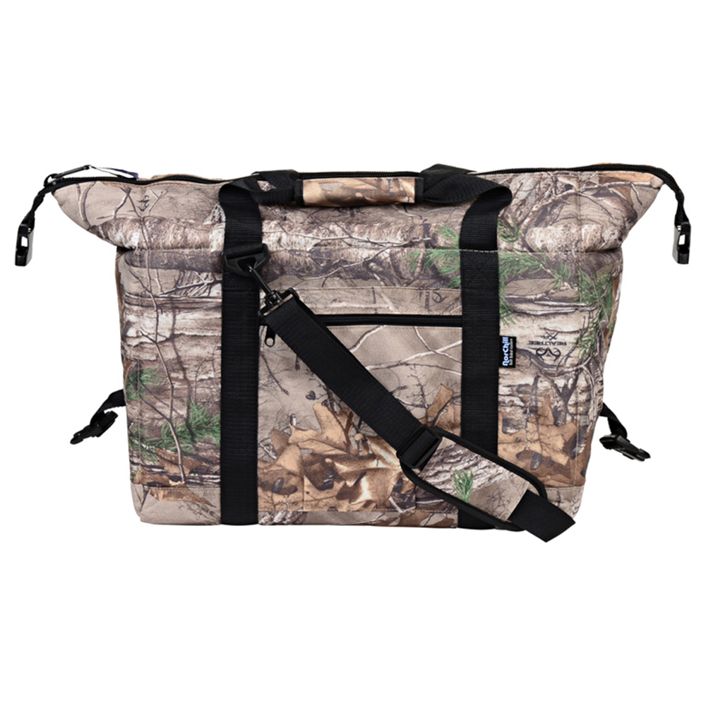 NorChill 24 Can Soft Sided Hot/Cold Cooler Bag - RealTree Camo
