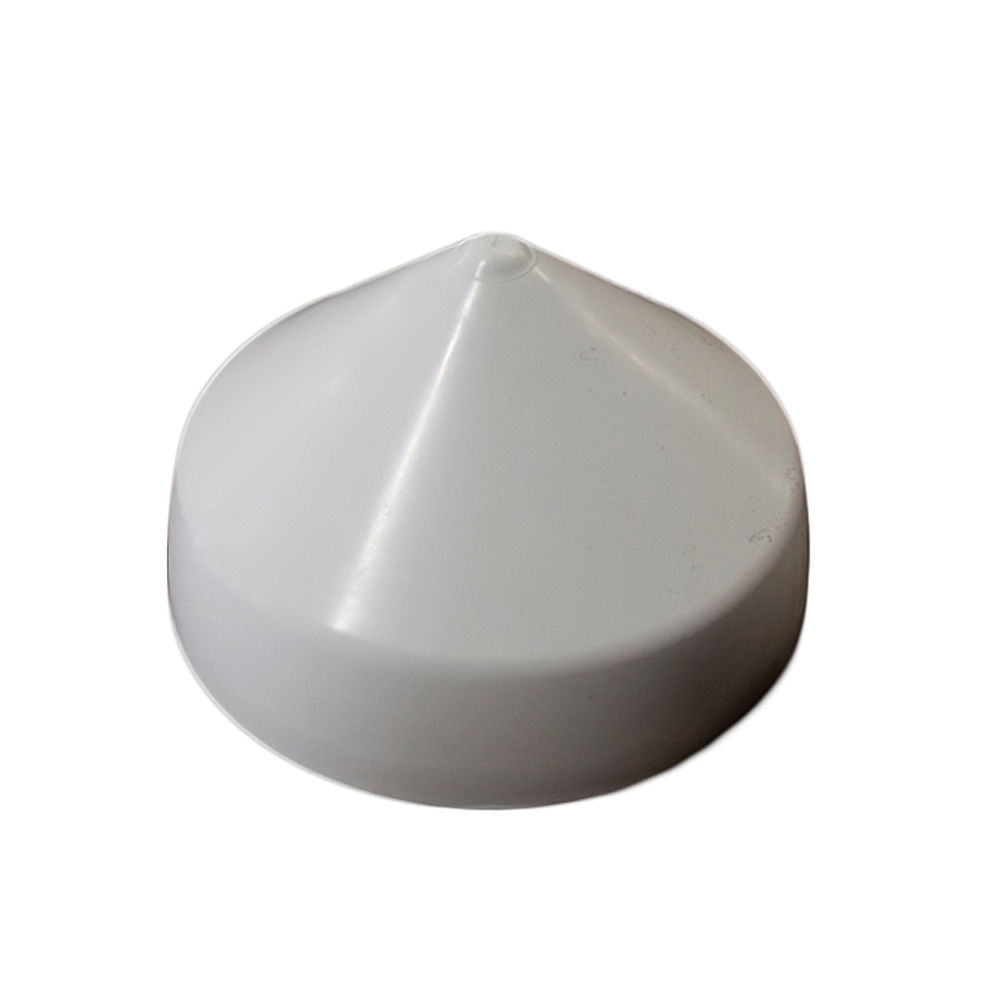 Monarch White Cone Piling Cap - 9
