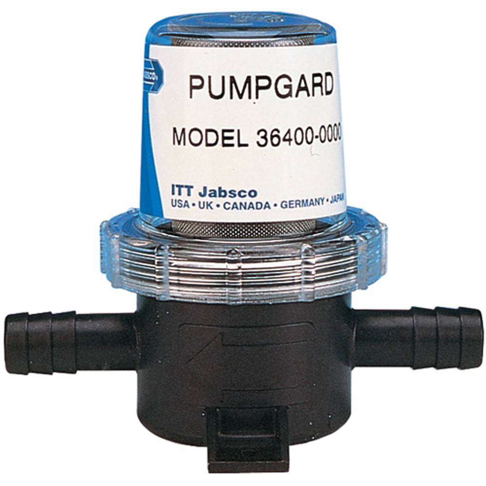 Jabsco Pumpguard In-Line Strainer - 1/2