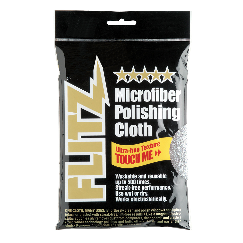 Flitz Microfiber Polishing Cloth - 16
