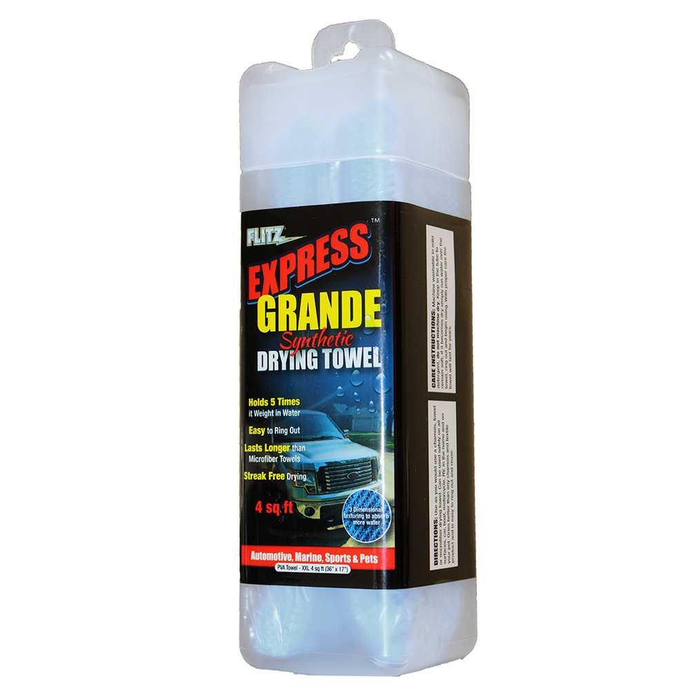 Flitz PVA Towel / Chamois Grande Express Synthetic Drying Towel - 34