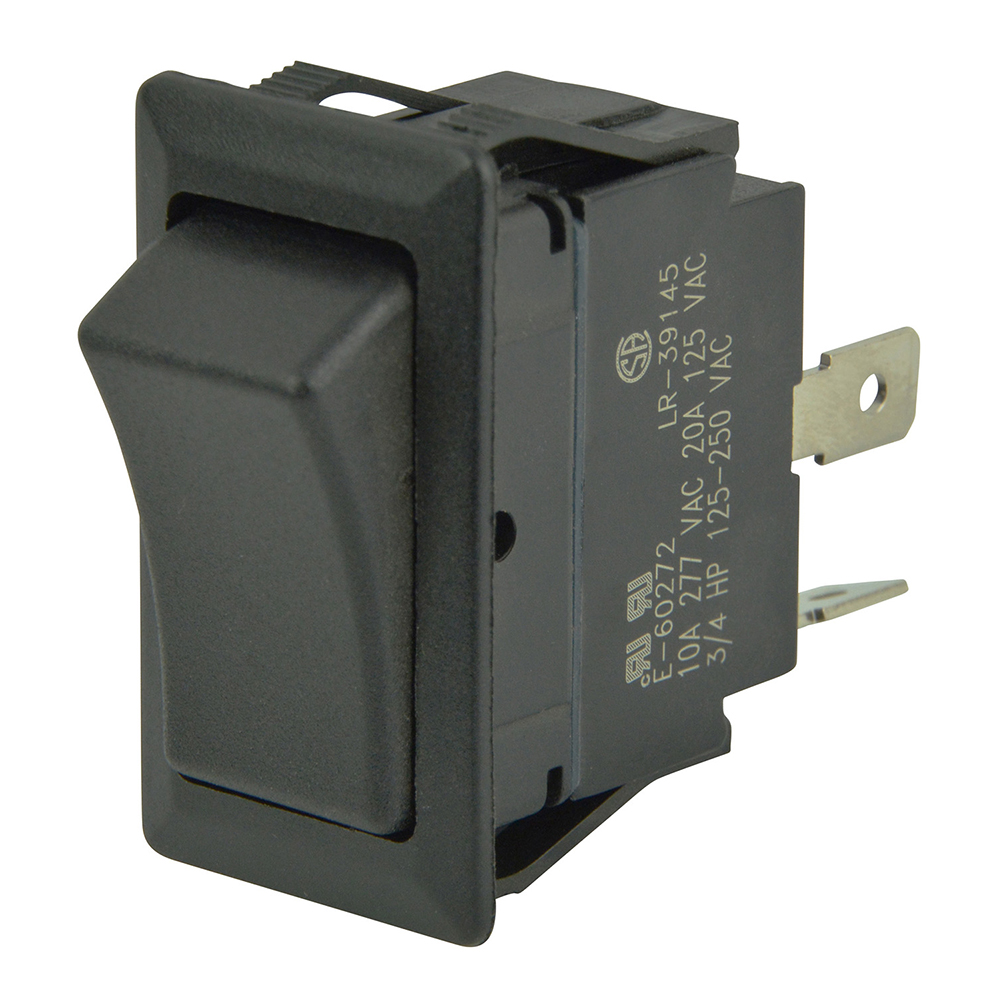 BEP SPST Sealed Rocker Switch - 12V/24V - (ON)/OFF