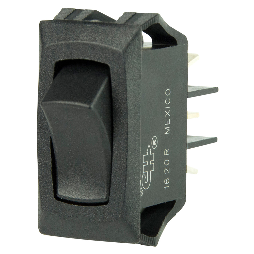 BEP Curved SPDT Mini Rocker Switch - 12V - ON/ON