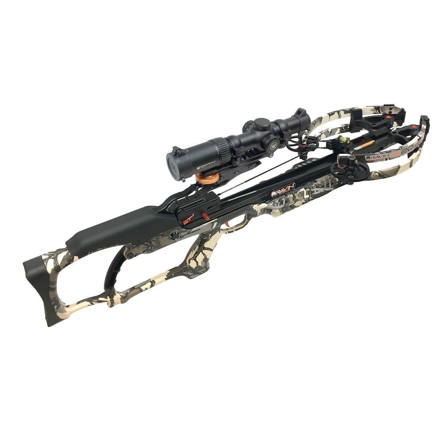Ravin Crossbows R022 Camo R20 Sniper Crossbow Package w/Vortex Scope-NEW