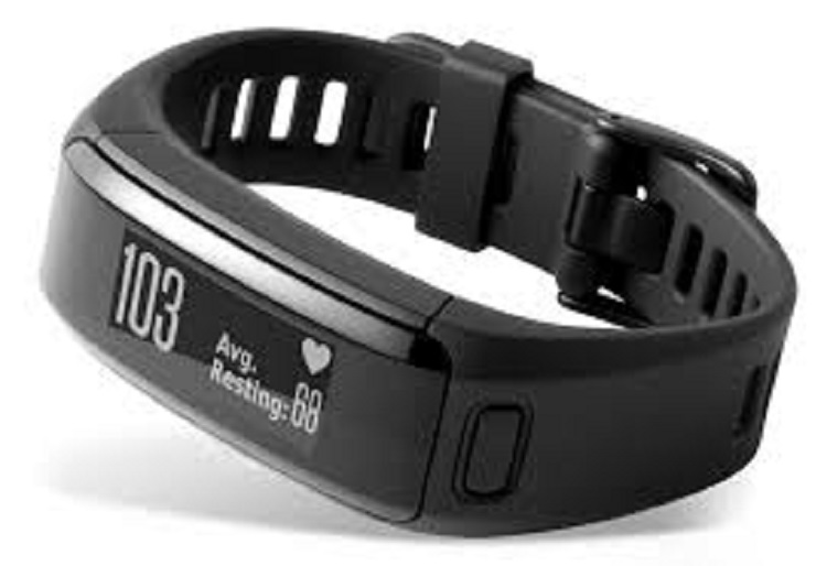 Fitness Band, Vivosmart HR, Blk, REFURB