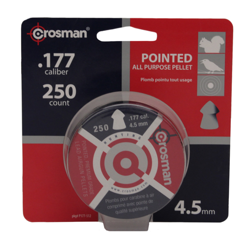 CROSMAN P177 .177 Pellet Blister Card Per/250