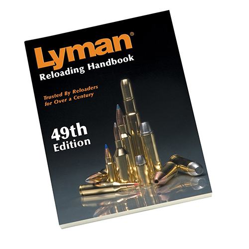 LYMAN 9816049 49th Edition Reloading Book, Soft
