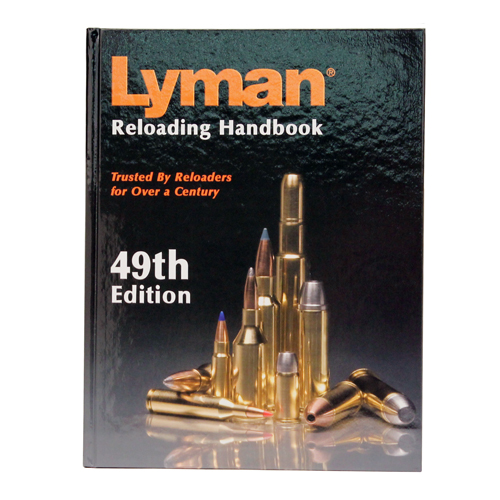 LYMAN 9816052 49th Edition Reloading Book, Hard