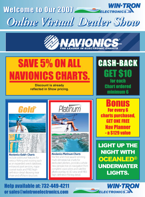 Navionics SD Cards
