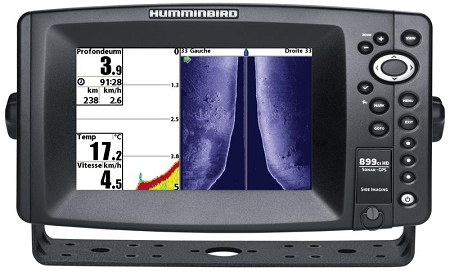 humminbird 899ci hd si combo side imaging tm transducer, Fish Finder