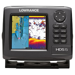 Lowrance Hds-5 Gen2 Lake  Insight With 83/200 Khz Ducer