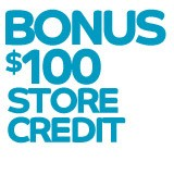 $100 Store Credit Towards Next Purchase