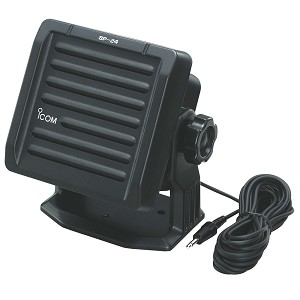 ICOM SP24 BLACK EXTERNAL  SPEAKER NOT WATERPROOF