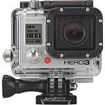GoPro - HD Hero3: Black Edition Action Camera - Black