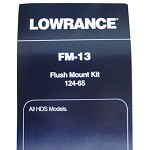 LOWRANCE FLUSH MOUNT FOR ALL HDS SERIES FM-13