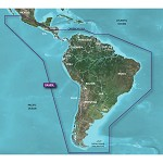 GARMIN HXSA500L G2 BLUECHART SOUTH AMERICA LARGE