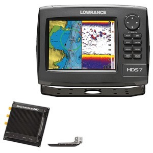 Lowrance Hds-7 Gen2 Insight  Usa Bundle With Lss-2 000-10869-001