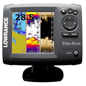 Lowrance Elite-5 Hdi Gold Combo No Transducer 000-11175-001