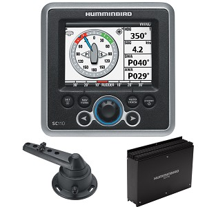 Humminbird SC 110 Autopilot System Kit - Computer, Control Head, Rudder Feedback & Cable