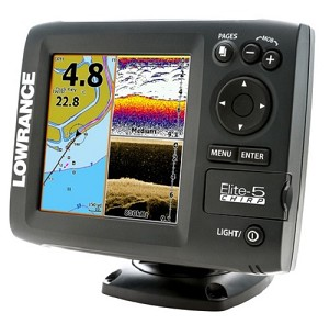 Lowrance Elite5 Chirp No Transducer Lowrance 000-11650-001 000-11650-001