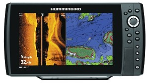 Humminbird HELIX 10 SI/GPS Combo  Side Imaging Sonar and GPS