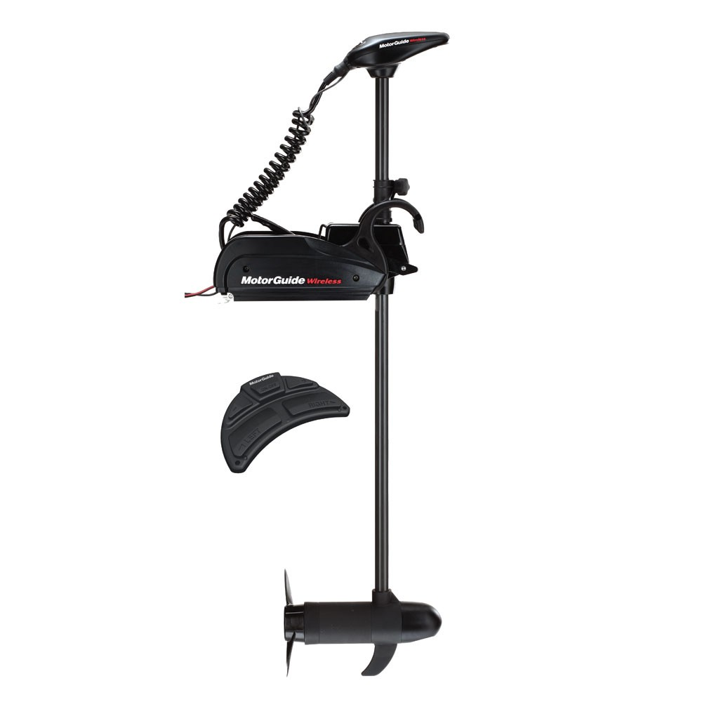 MotorGuide Wireless W75 Freshwater Bow Mount Trolling Motor - Wireless Foot Pedal - 24v-75lb-60""