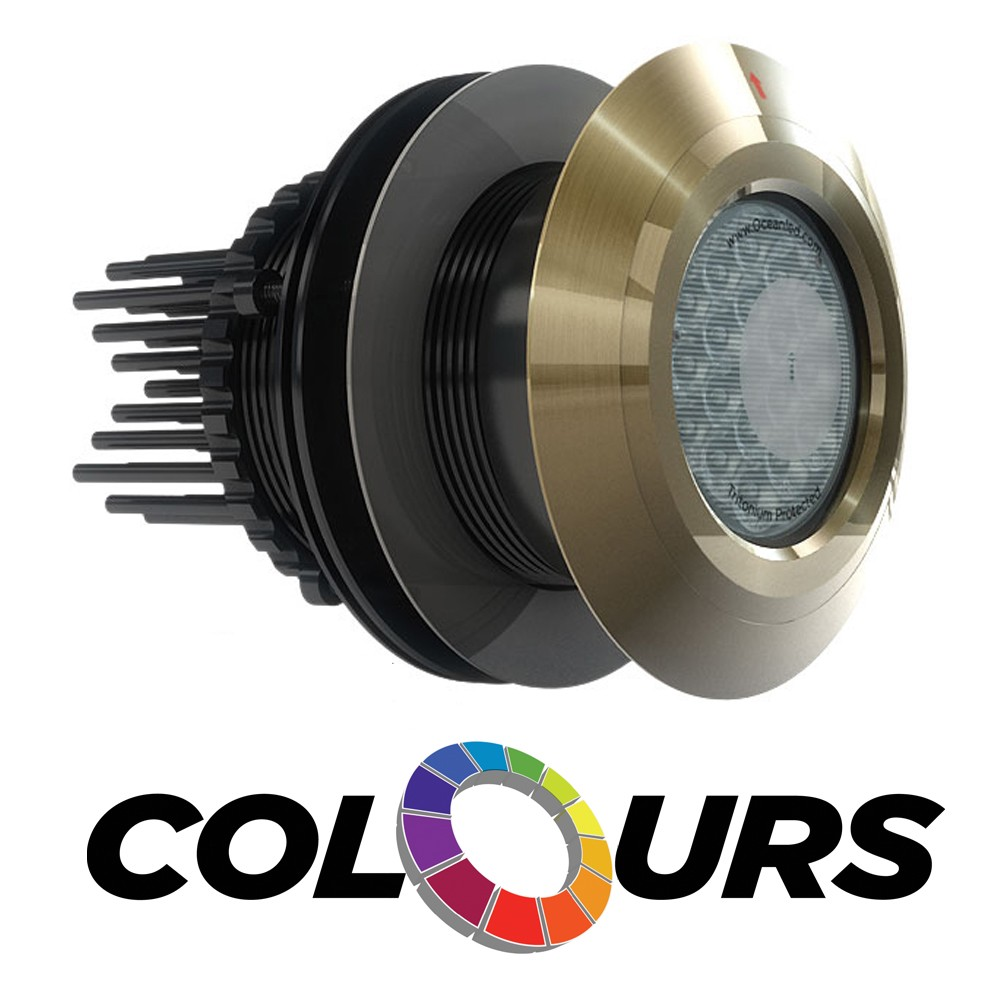 OceanLED 'Colours' XFM Pro Series HD Gen2 LED Underwater Lighting - Color-Change
