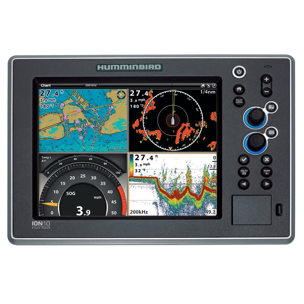 "Humminbird ION10 - 10.4"" Multi-Function Display"