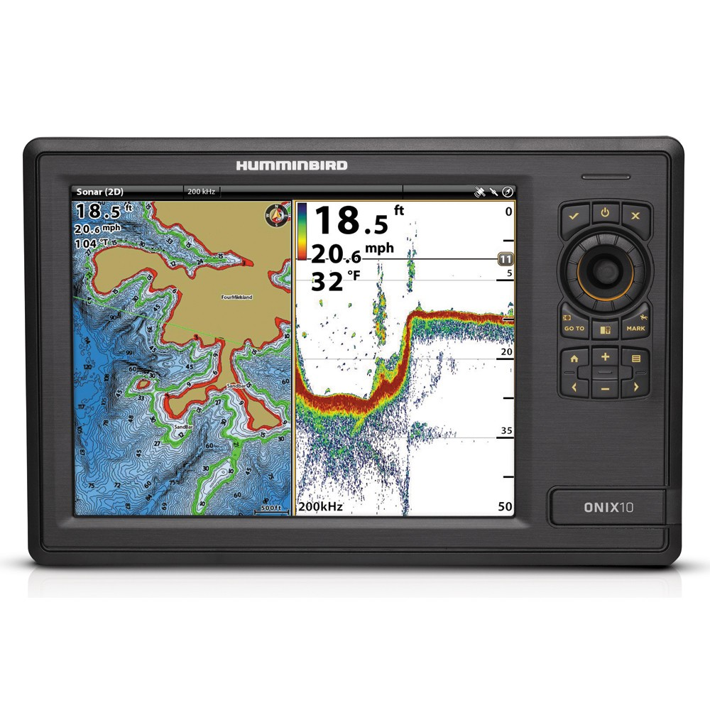Humminbird ONIX10ci NT Combo - Non-Touch Unit